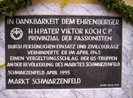 Germany 2005 Gallery: Close-up of the Plaque