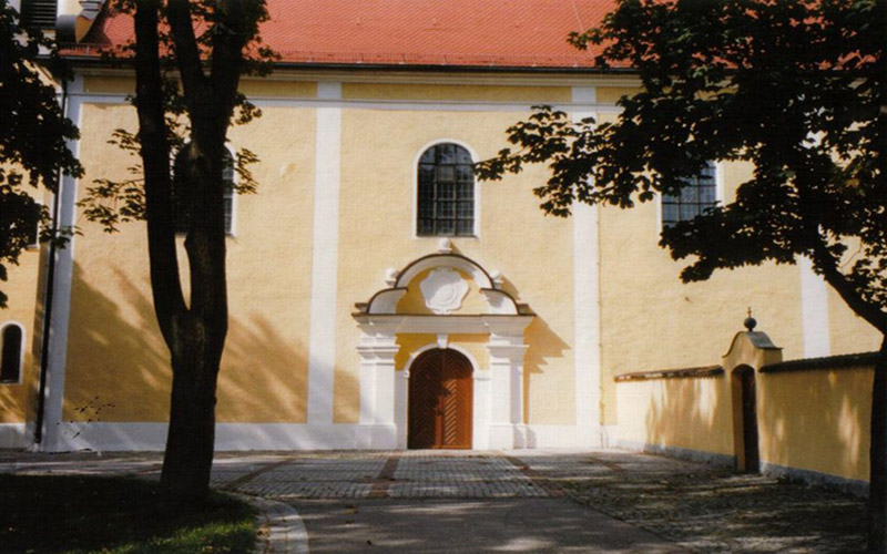The Monastery Gallery: Miesbergkirche Courtyard