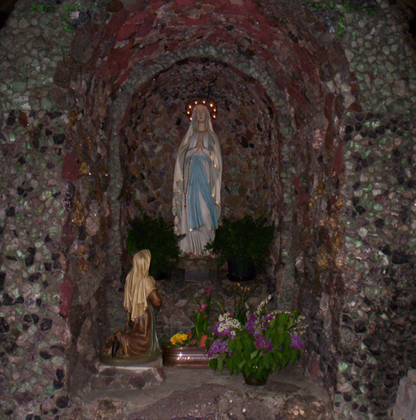 The Monastery Gallery: The Marian Grotto