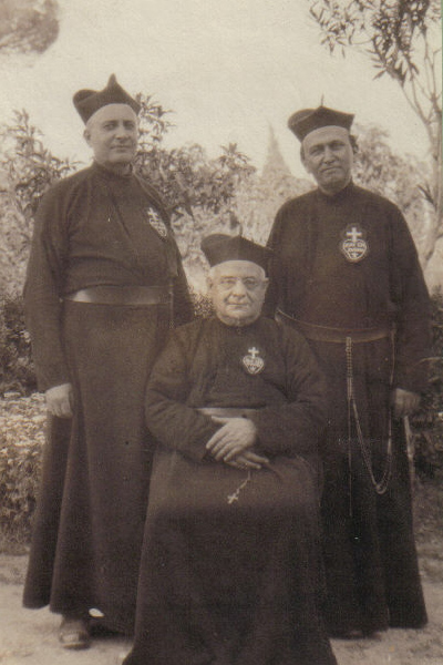 The Fr. Viktor Gallery: Viktor and Valentine with Father General Silvio Di Vezza
