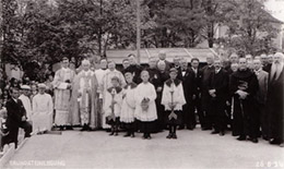 The Fr. Viktor Gallery: the Groundbreaking Ceremony